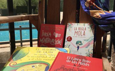 Libros de menstruación para niñas
